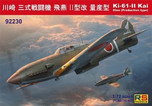 Ki-61 II Kai with bubble canopy