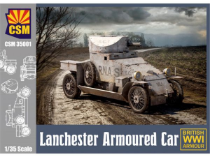 Lanchester Armoured Car