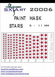 Mask Stars 5 - 11mm