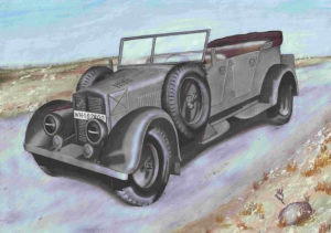 Phanomen Granit 25H - Kubelwagen