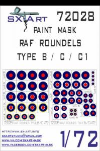 RAF Roundels Type B/C/C1