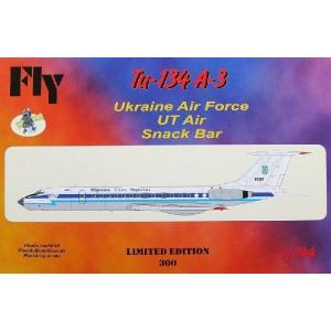 TU-134 A-3 (UKRAINE AF, UT AIR, SNACK BAR)