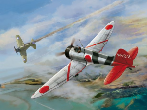 """Type 96 carrier-based fighter IV A5M4 """"Claude"""""""