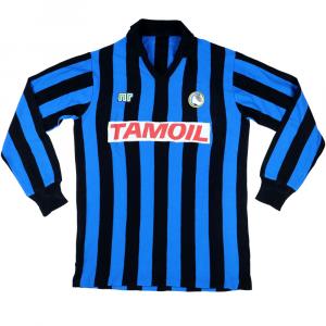 1989-90 Atalanta Maglia Match Worn #19 L (Top)