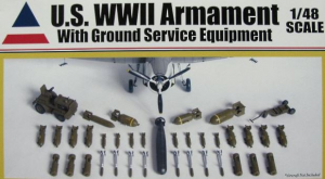 WWII Armament With Ground Service Equipment