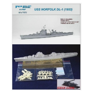 USS NORFOLK 1953