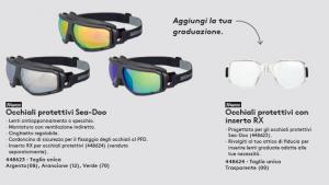 Occhiali Protettivi Specchio 2021 T.U. ARANCIONE - SeaDoo
