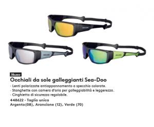 Occhiali GALLEGGIANTI 2020 T.U. ARGENTO - Sea-Doo