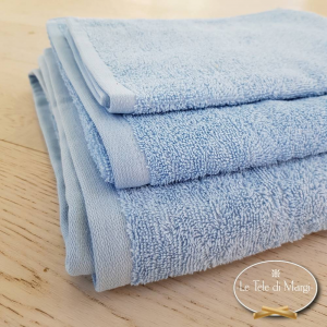 Asciugamani tinta Unita Azzurro