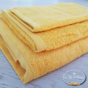 Asciugamani tinta Unita Giallo