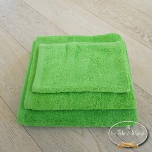 Asciugamani tinta Unita Verde Acido