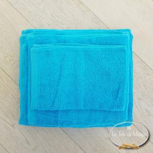 Asciugamani tinta Unita Turchese