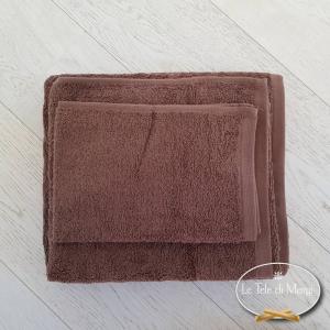 Asciugamani tinta Unita Cioccolato