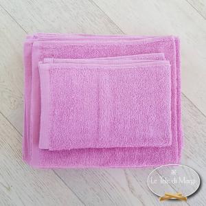 Asciugamani tinta Unita Lilla