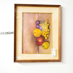 Quadro Natura Morta-frutta Alibardi1982 54x44cm
