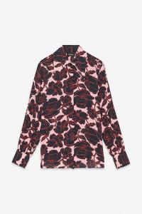 Camicia con rose