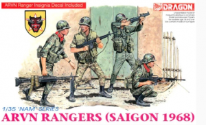 ARVN Rangers Saigon 1968 Dragon 3314