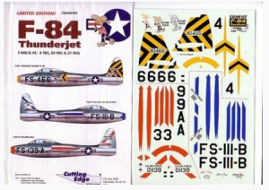 F-84s #2 Cutting Edge Modelworks CED48107