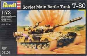 SOVIET MAIN BATTLE TANK T-80