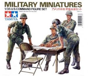 U.S. Command figure set Tamiya MM179