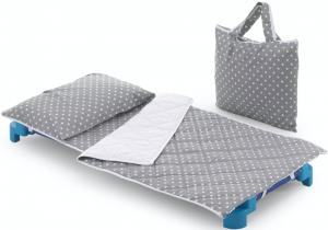 Set tessile per asilo linea Sottosopra Pois | Borsa Omaggio