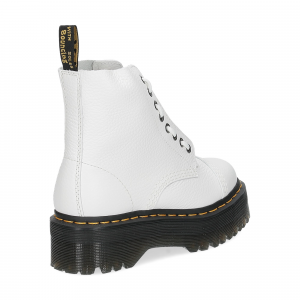 Dr. Martens Anfibi donna sinclair white aunt sally-5