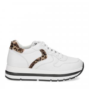 Voile Blanche Maran bianco leopard-2