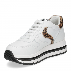 Voile Blanche Maran bianco leopard-4