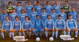 1986-88 Como Maglia Home #11 Corneliusson M (Top)