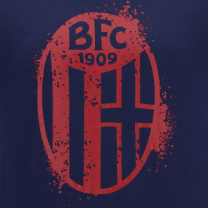 T-SHIRT BLU LOGO UFFICIALE 2020/21 (Adulto) Bologna Fc