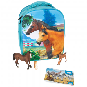 Zaino Scuola Set da gioco 3D Cavallo Animal Planet