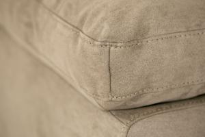 LUCIAN - Piccolo divano in tessuto 2 posti
