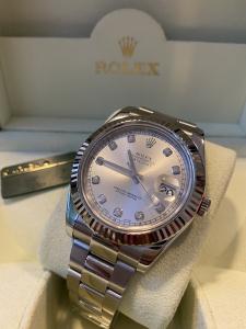 Orologio secondo polso Rolex Datejust 2