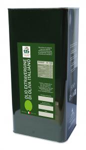 OLIO - EXTRAVERGINE - OLIVA - 100% ITALIANO - 5 LT - COSTA DEGLI OLIVI