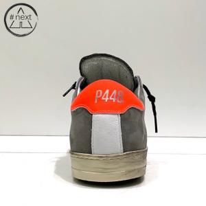 P448 - JOHN-M - Alabama e arancio fluo.