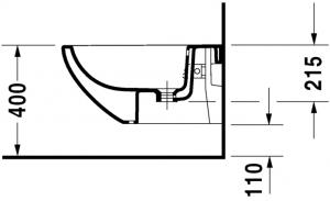 Architec Bidet sospeso Cod. Art. 253115