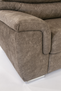 REDD - Divano 3 posti in tessuto tecnico dal design moderno