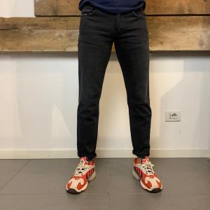 Pantalone Uomo Department 5 Prince Effetto Slavato Grigio Antracite
