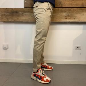 Pantalone Uomo Department 5 Prince Lungo Effetto Slavato Beige