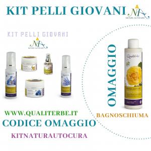 Kit Pelli Giovani OMAGGIO inserisci il CODICE: KITNATURAUTOCURA IN OMAGGIO il Bagnoschiuma Flowers and Fruits