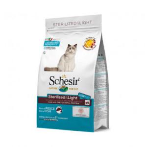 SCHESIR CAT STERILIZED & LIGHT PESCE