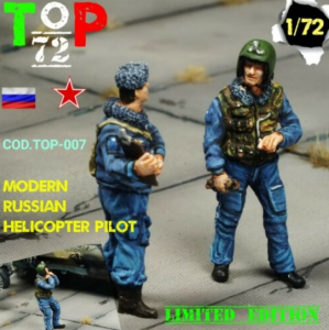 MODERN RUSSIAN HELICOPTER PILOT