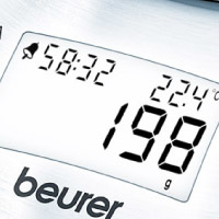 Beurer KS54 Bilancia da cucina elettronica Acciaio inossidabile
