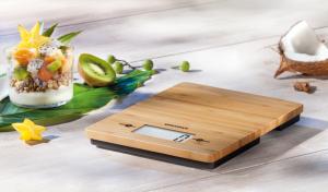Soehnle Bamboo Bilancia da cucina elettronica Superficie piana Rettangolo