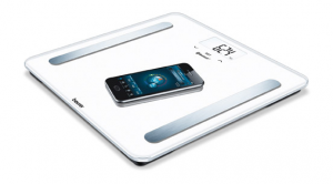 Beurer BF 600 Bilancia pesapersone elettronica Quadrato Bianco