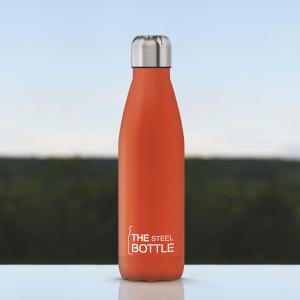 The Steel Bottle Classic 500 ml - Arancione