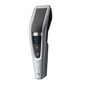 Philips HAIRCLIPPER Series 5000 HC5630/15 tagliacapelli Nero, Argento