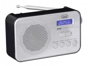 Trevi DAB 7F92 R radio Portatile Digitale Nero, Bianco