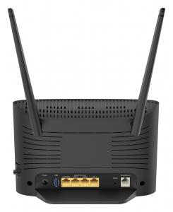 D-Link DSL-3788 router wireless Dual-band (2.4 GHz/5 GHz) Gigabit Ethernet Nero
