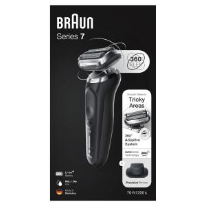 Braun Series 7 70-N1200s Rasoio Trimmer Nero